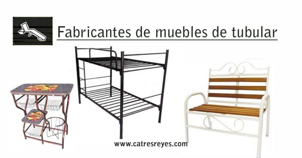 fabricantes de muebles de tubular